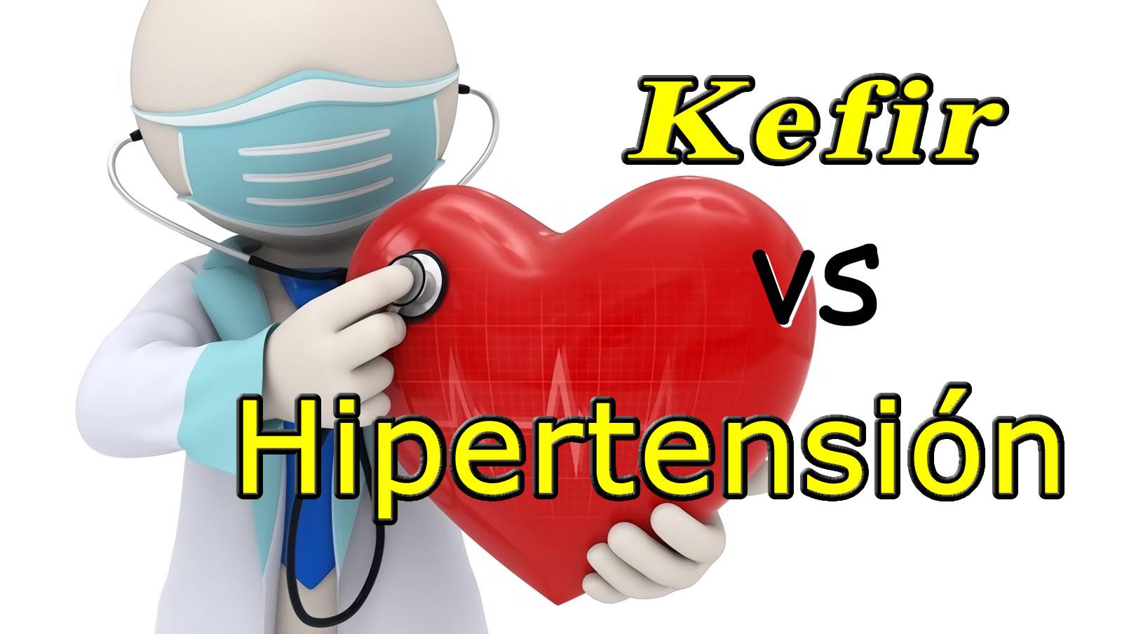 Kefir vs Hipertensión